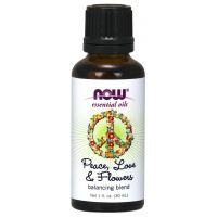 Peace, Love & Flowers Oil Blend (30 ml) NOW Foods