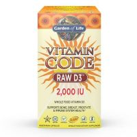Vitamin Code RAW D3 - Witamina D3 2000 IU (120 kaps.) Garden of Life