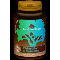BIO Chlorella & BIO Spirulina (300 tabl.) Rainforest Foods
