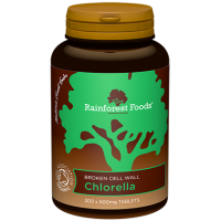 BIO Chlorella (300 tabl.) Rainforest Foods