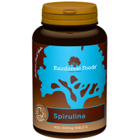 BIO Spirulina (300 tabl.) Rainforest Foods
