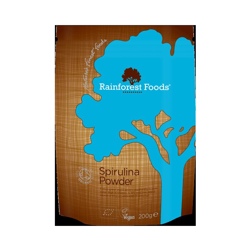 BIO Spirulina (200 g) Rainforest Foods