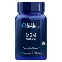 Siarka MSM - Metylosulfonylometan 1000 mg (100 kaps.) Life Extension