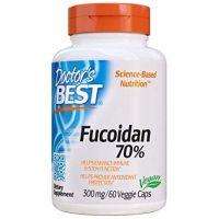 Fucoidan 70% - Ekstrakt Fucoidanu 300 mg (60 kaps.) Doctor's Best