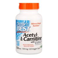 Acetyl L-Karnityna HCI 500 mg (120 kaps.) Doctor's Best