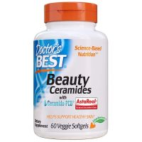 Beauty Ceramides - Ceramid-PCD + Astaksantyna (60 kaps.) Doctor's Best