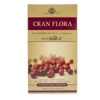 Cran Flora - Żurawina + Witamina C + L.Acidophilus (60 kaps.) Solgar