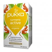 BIO Kompleks ziół z Kurkumą Turmeric Active - Kurkuma dla aktywnych (30 kaps.) Pukka