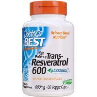 Trans-Resveratrol 600 mg (60 kaps.) Doctor's Best