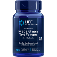 Mega Green Tea Extract - Zielona Herbata ekstrakt 725 mg (100 kaps.) Life Extension