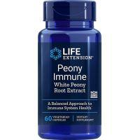 Peony Immune - Ekstrakt z Białej Piwonii (60 kaps.) Life Extension