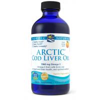 Arctic Cod Liver Oil - arktyczny Olej z Wątroby Dorsza o smaku pomarańczowym (237 ml) Nordic Naturals