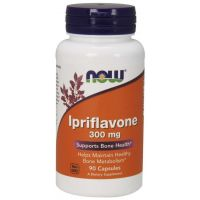 Ipriflavone - Ipriflawon 300 mg (90 kaps.) NOW Foods