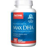 Max DHA - DHA Kwas Dokozaheksaenowy 300 mg (180 kaps.) Jarrow Formulas