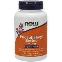 Phosphatidyl Serine - Fosfatydyloseryna 100 mg (120 kaps.) NOW Foods