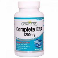 Complete EFA 1200 mg - Omega 3-6-9 (90 kaps.) Natures Aid