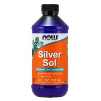 Silver Sol - Srebro Koloidalne 10 ppm (237 ml) NOW Foods