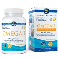 Omega-3 in Fish Gelatin - Omega 3 o smaku cytrynowym (60 kaps.) Nordic Naturals