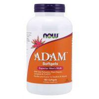 Multiwitamina i Składniki Mineralne dla Mężczyzn ADAM (180 kaps.) NOW Foods