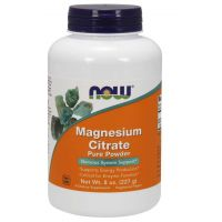 Magnesium Citrate - Cytrynian Magnezu (227 g) NOW Foods