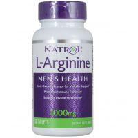 L-Arginina 1000 mg (50 tabl.) Natrol