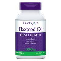 Flaxseed Oil 1000 mg - Olej lniany (90 kaps.) Natrol
