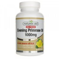 Evening Primrose Oil - Olej z Nasion Wiesiołka 1000 mg (90 kaps.) Natures Aid