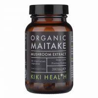 Maitake Mushroom Extract - Grzyb Maitake ekstrakt z owocników 380 mg (60 kaps.) Kiki Health