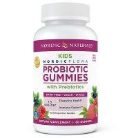 Probiotic Gummies Kids - Probiotyk dla Dzieci 1,5 miliarda CFU (60 żelek) Nordic Naturals