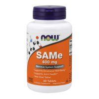 SAMe - S-Adenozylo L-Metionina 400 mg (60 tabl.) NOW Foods