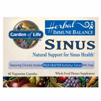 Herbal Immune Balance Sinus - Zdrowe Zatoki (60 kaps.) Garden of Life