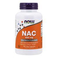 NAC - N-Acetylo-L-Cysteina 600 mg (100 kaps.) NOW Foods