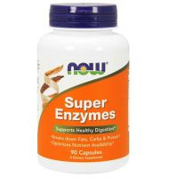 Super Enzymes - Enzymy trawienne (90 kaps.) Now Foods
