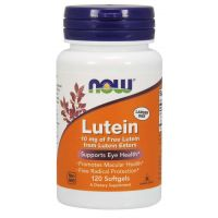 Luteina 10 mg (120 kaps.) NOW Foods
