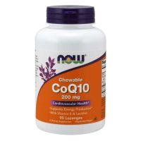 Koenzym Q10 200 mg (90 tabl.) NOW Foods