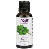 100% Olejek Bazyliowy - Bazylia (30 ml) NOW Foods