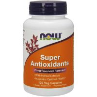 Super Antioxidants - Antyoksydanty (120 kaps.) NOW Foods