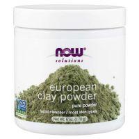 European Clay Powder - Montmorylonit (170 g) NOW Foods