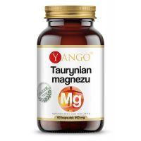 Taurynian Magnezu 200 mg (60 kaps.) Yango
