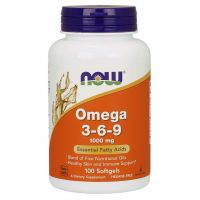 Omega 3-6-9 1000 mg (100 kaps.) NOW Foods