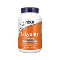 L-Lizyna 500 mg (250 kaps.) NOW Foods
