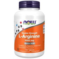 L-Arginina 1000 mg (120 tabl.) NOW Foods