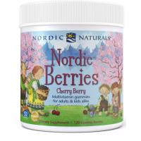Nordic Berries - Witaminy i Minerały dla Dzieci i Dorosłych (120 żelków) Nordic Naturals