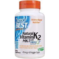 Naturalna Witamina K2 MK7 45 mcg (60 kaps.) Doctor's Best