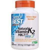 Naturalna Witamina K2 MK7 100 mcg (60 kaps.) Doctor's Best