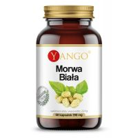 Morwa Biała - ekstrakt 10:1 (60 kaps.) Yango