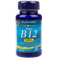 Witamina B12 1000 mcg (100 tabl.) Holland & Barrett