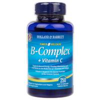 Witamina B-Complex + Witamina C (250 tabl.) Holland & Barrett