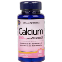 Calcium plus Vitamin D3 - Wapń i Witamina D3 (60 tabl.) Holland & Barrett