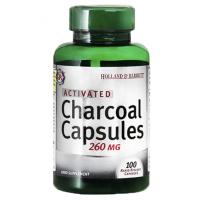 Aktywny Węgiel Drzewny - Activated Charcoal 260 mg (100 kaps.) Holland & Barrett